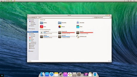 OS X Mavericks Transformation Pack for Windows