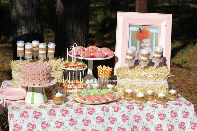 Fall Shabby Chic 1st Birthday Party | Ucreate Parties