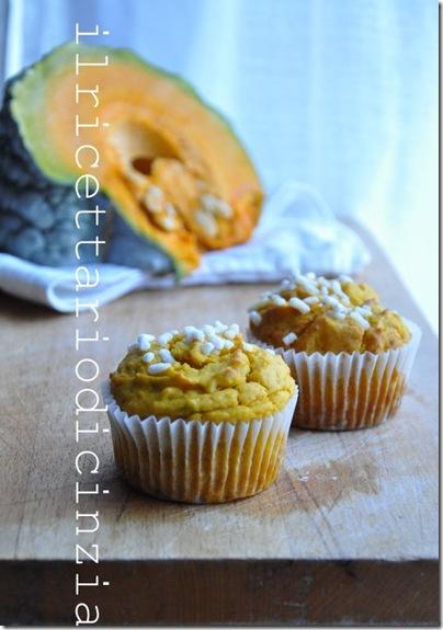 Muffin alla zucca semplici semplici