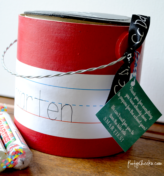 Teacher Treat Bucket
