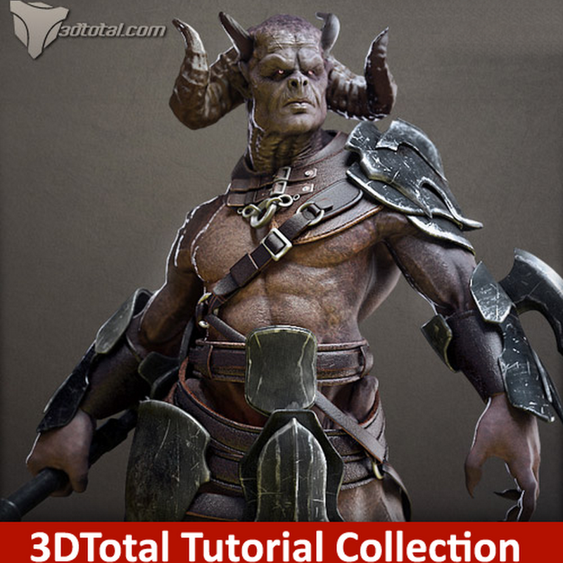 3DTotal Tutorial Collection Mega Pack