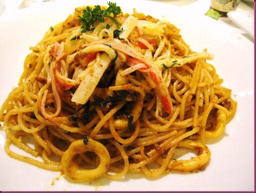 Kulinarya's Aligue Pasta