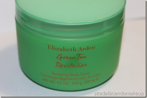 Green Tea Revitalize Renewing Body Scrub