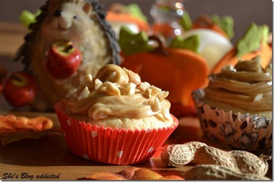 Erdnussbutter Cupcakes (55)