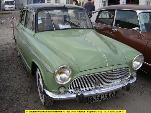 simca aronde p 60 élysée 1959