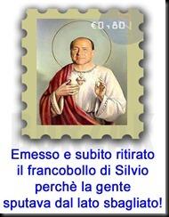Francobollo Silvio