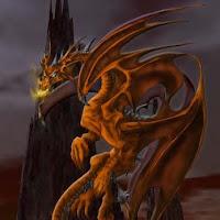 dragon ojos de fuego-montaña