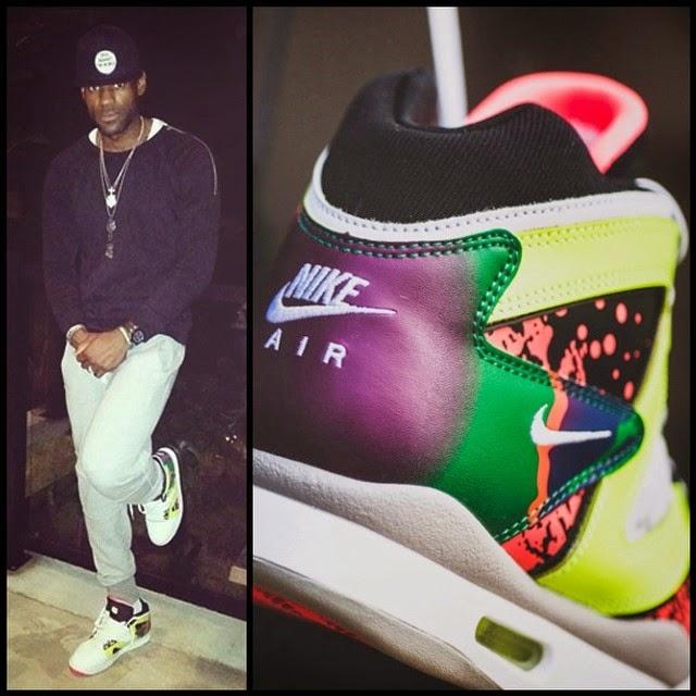 buy popular a9c93 126bf Slimmed Down LeBron Wears Nike Air Tech Challenge Hybrid   NIKE LEBRON -  LeBron James Shoes
