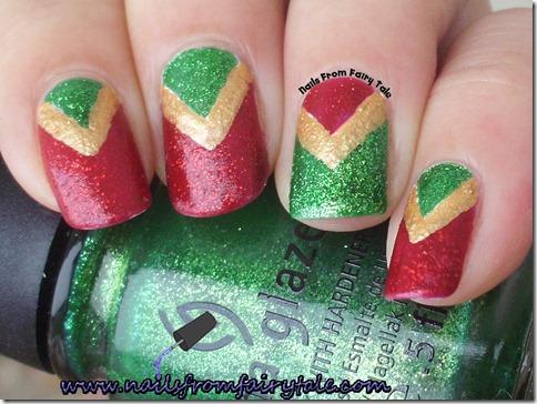 christmas v manicure 4