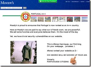 Moodys Portugal