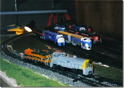 13 MSOE SOME Layout during TrainTime 2002