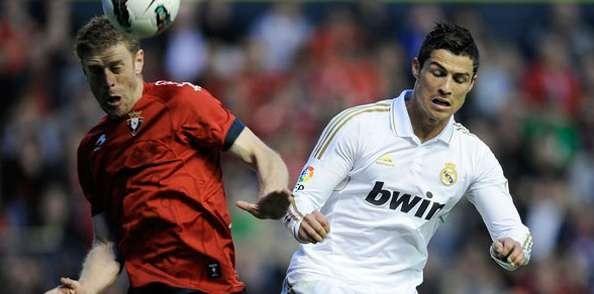 Prediksi Osasuna vs Real Madrid Liga Spanyol Minggu, 13 Januari 2013