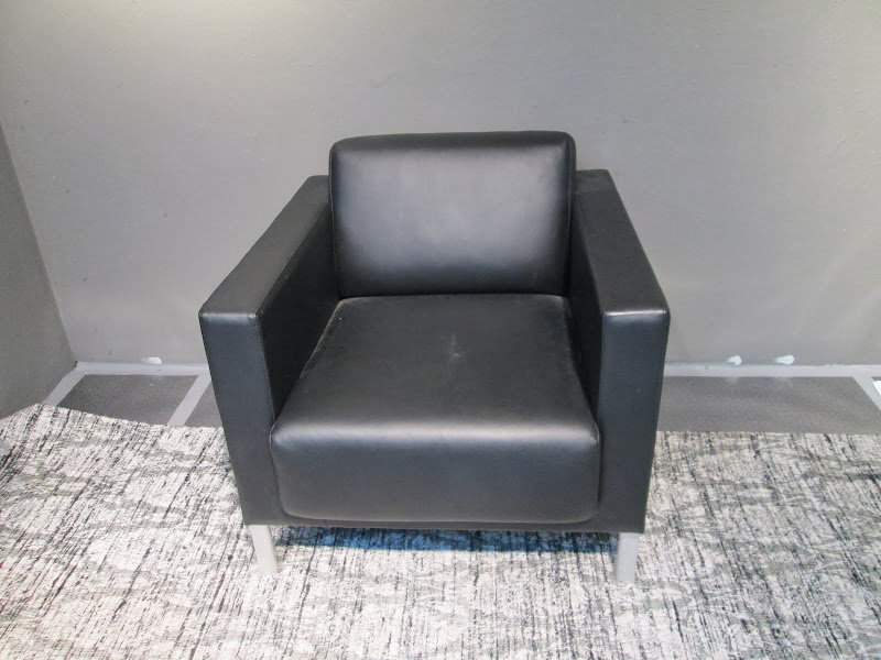 Kron Black Armchair