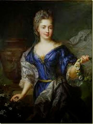 María Ana de Borbón, la Princesa de Conti, casada con Luis Armando I de Borbón-Conti .
