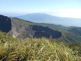 Gunung Kaba's second active crater (Dan Quinn, August 2013)