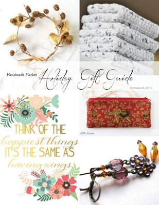 Handmade Market Holiday Gift Guide 2014