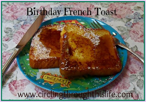 Birthday French Toast Image Random 5