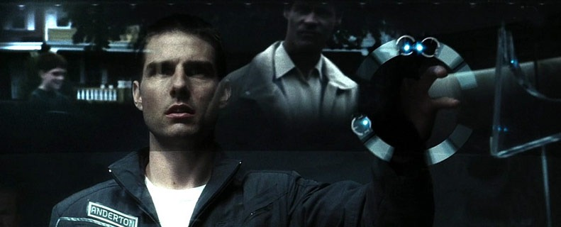 Minority Report movie scene