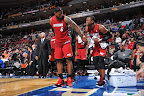 lebron james nba 120203 mia at phi 04 King James Unveils New Shoe   Black/Red/White LEBRON 9