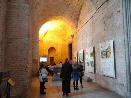 Obiective turistice Istanbul: Intrare Catedrala Sf. Sofia