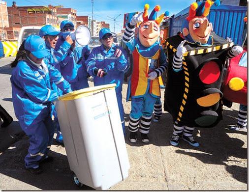 La basura en El Alto
