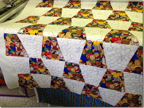 tumbler baby quilted