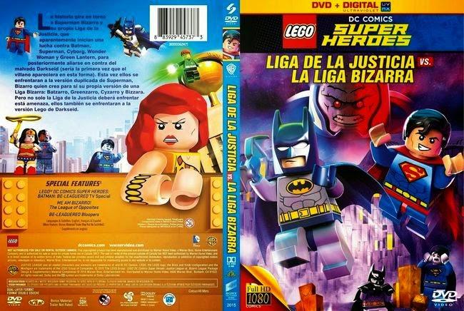 Lego DC Comics Super Heroes: Justice League Vs. Bizarro League – Latino