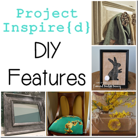 Project Inspired DIY Featueres from SettingforFour.com