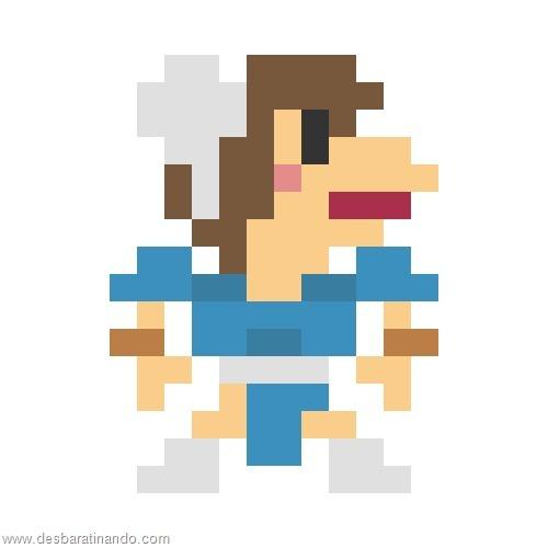super herois e viloes em 8 bits street fighter (10)
