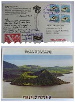Filipinas Taal Volcano