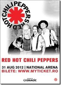 concert -red hot chili peppers