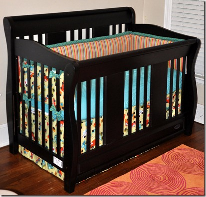 riley blake peak hour crib bedding