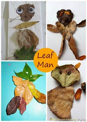 Preschool Art: Creating with Leaves