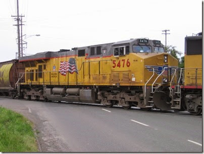IMG_6309 Union Pacific ES44AC #5476 at Peninsula Jct on May 12, 2007