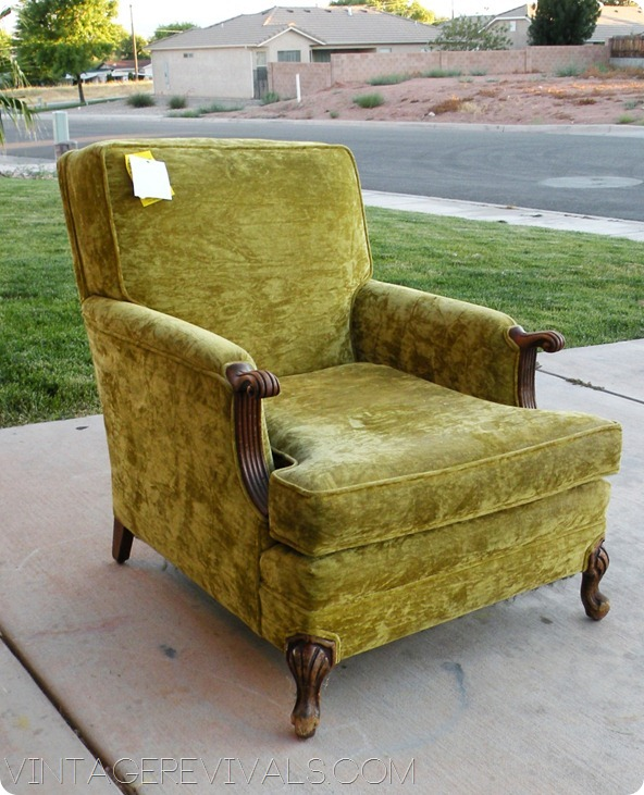 Thrift Store Chair 011