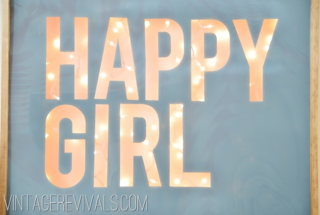 Happy Girl Sign-7