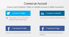 buffer connect account