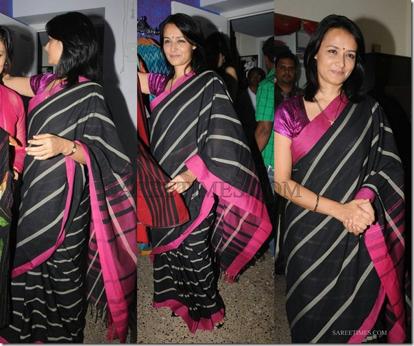 amala_black_saree