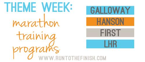 Exploring marathon training methods