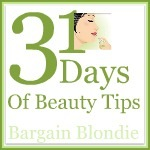 31 Days of beauty tips