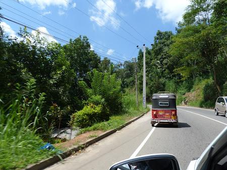 Sosele Sri Lanka: spre Nuwara Eliya