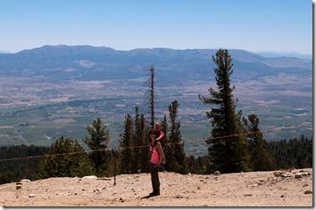 Hiking at Lake Tahoe with the Piggyback Rider
