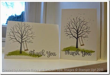 Sheltering Tree Thank You Notecards, Amanda Bates, The Craft Spa, 2015_01 (2)