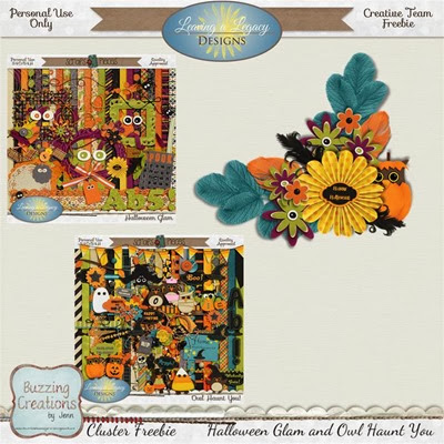 Leaving a Legacy Designs - HG and OHY - Cluster Freebie 2 Preview