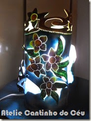 Luminarias de PVC atelie cantinho do céu