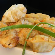 Yaki Mandu (Korean style fried dumplings)