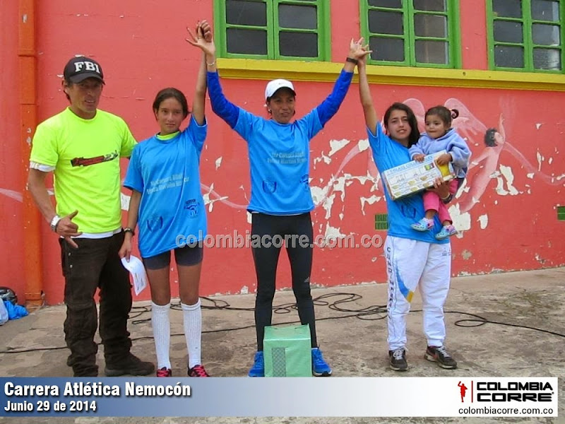 carrera atletica nemocon 2014