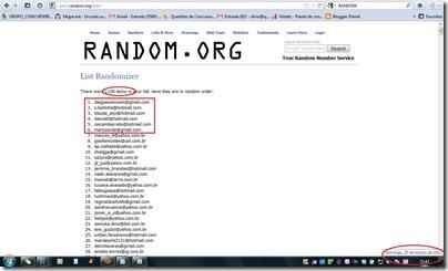 Sorteio random - 250312