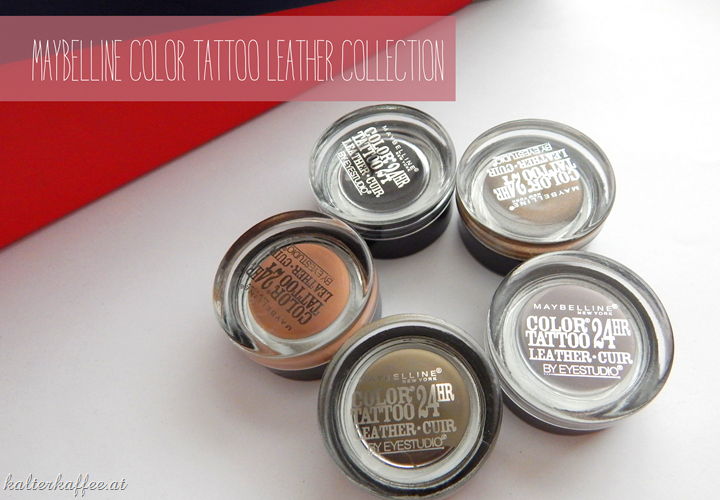 Maybelline Color Tattoo Leather Collection