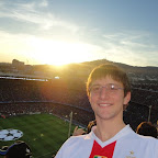 Saluti da Francesco MIceli - Camp Nou Barcellona